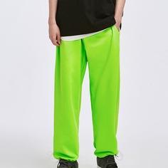 Карман Одноцветный Улица Мужские брюки Shein
