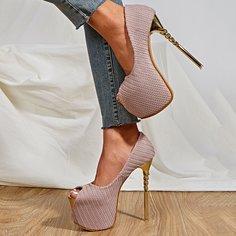 Туфли-лодочки на платформе и высоком каблуке Shein