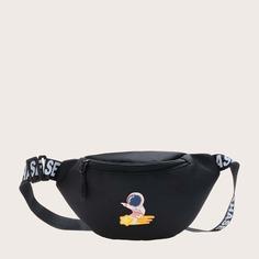 Детская поясная сумка с заплатой астронавта Shein