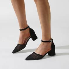 Остроконечные сетчатые туфли-лодочки Shein