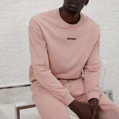 Мужской пуловер с текстовым принтом Shein