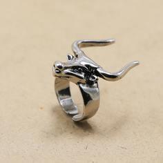 Мужское кольцо с животной головой Shein