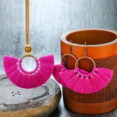 Ювелирные украшения с бахромой 3шт Shein