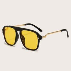 Детские солнцезащитные очки с тонированными линзами Shein