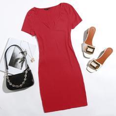 Облегающее платье Shein