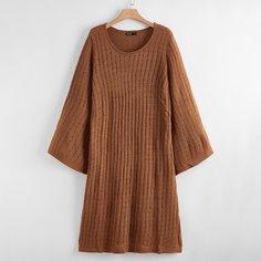 Вязаное платье размера плюс Shein