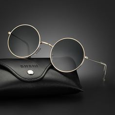 Мужские круглые солнечные очки Shein