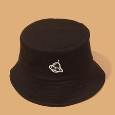 Мужская шляпа с вышивкой НЛО Shein
