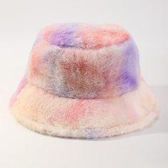 Шляпа с принтом тай дай для девочек Shein