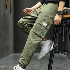 Мужские брюки-карго с карманом Shein
