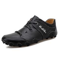 Мужские официальные туфли с текстовым принтом на шнурках Shein