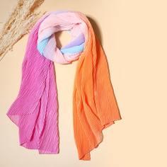 Контрастный шарф Shein