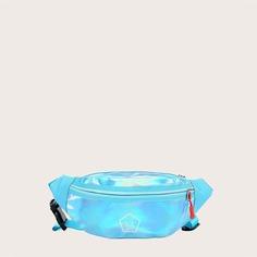 Регулируемый буква Детские поясные сумки Shein