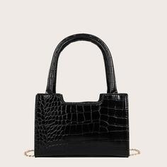 двойная ручка Крокодил Детские сумки на плечо и сумки-тоут Shein