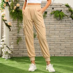 Короткие спортивные брюки с карманом Shein