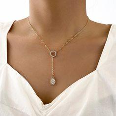 Очаровательный Ожерелья Shein