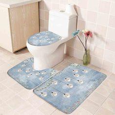 Со цветочками Коврики для ванной Shein