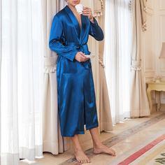 1шт мужской халат с поясом Shein