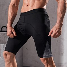 Спортивный Мужские спортивные брюки и леггинсы Shein