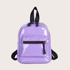 Рюкзак из лакированной кожи Shein