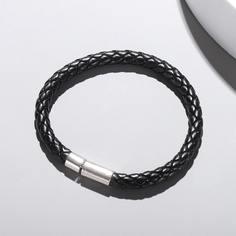 Мужской плетеный браслет из искусственной кожи Shein