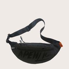 Мужская светоотражающая поясная сумка Shein