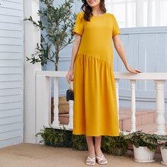 Платье для кормления с молнией для беременных Shein