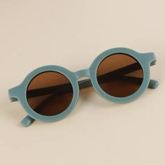 Детские солнцезащитные очки в круглой оправе Shein