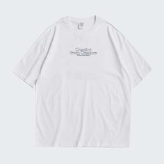 Мужская футболка с текстовым принтом Shein