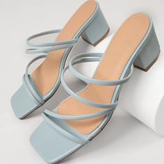 Туфли на низком каблуке Shein