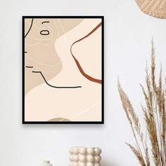 DIY Алмазная живопись с абстрактным узором без рамки Shein