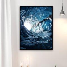 Алмазная живопись с узором пещеры без рамки Shein