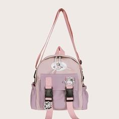 Рюкзак с пряжкой и подвеской Shein