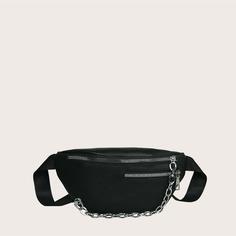 Поясная сумка с цепочкой для девочек Shein