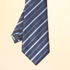 Мужской галстук в полоску Shein