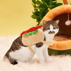 Костюм в форме хот-дога для домашних животных Shein