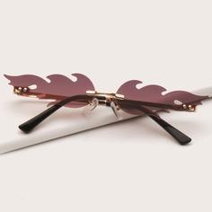 Детские солнцезащитные очки без оправы Shein