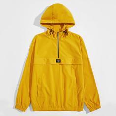 Мужская куртка-анорак с карманом Shein