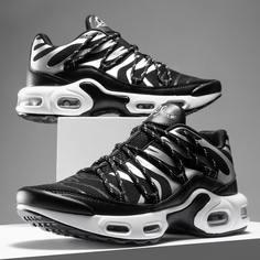 Мужские контрастные кроссовки на шнурках Shein