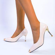 Туфли-лодочки на высоком каблуке со стразами Shein