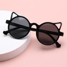 Детские солнцезащитные очки с кошачьими ушками Shein
