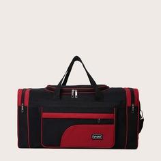 Мужская дорожная сумка большой емкости Shein
