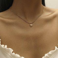 Повседневный Ожерелья Shein