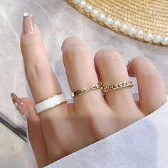 3шт оригинальное кольцо Shein