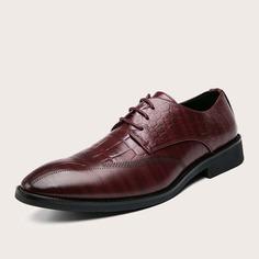 Мужские официальные туфли на шнурках Shein