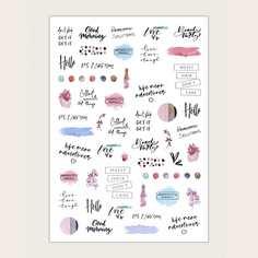 1 лист наклейка для ногтей с текстовым принтом Shein