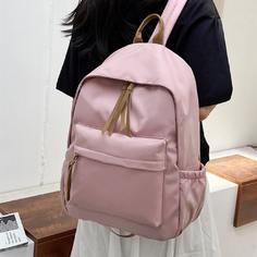 Регулируемый Одноцветный Институтский Рюкзак Shein