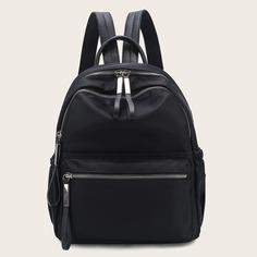 Минималистский рюкзак с карманом Shein