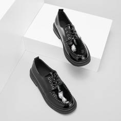 Минималистичные оксфорды на шнурке Shein