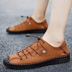 Мужские модельные туфли с вырезом Shein